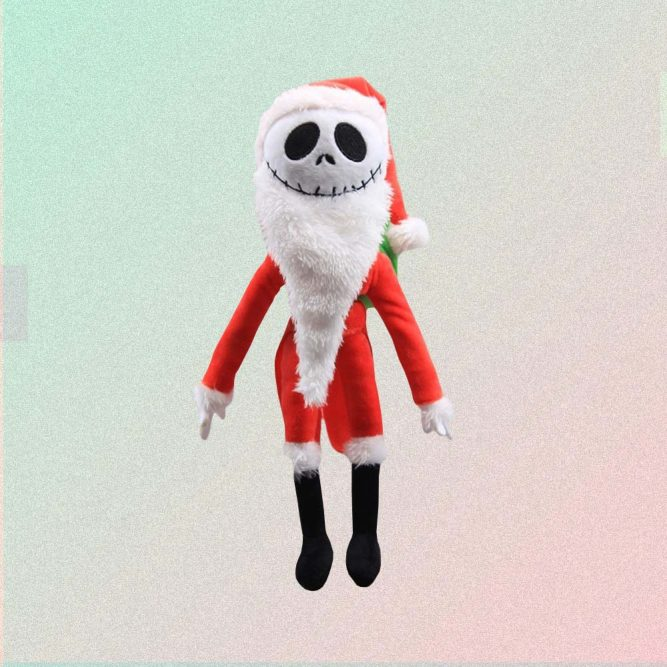 JACK THE NIGHTMARE BEFORE CHRISTMAS STUFFED TOY