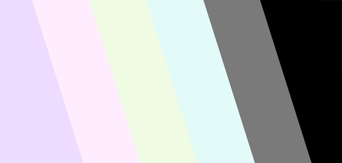 Pastel Goth Color Palette