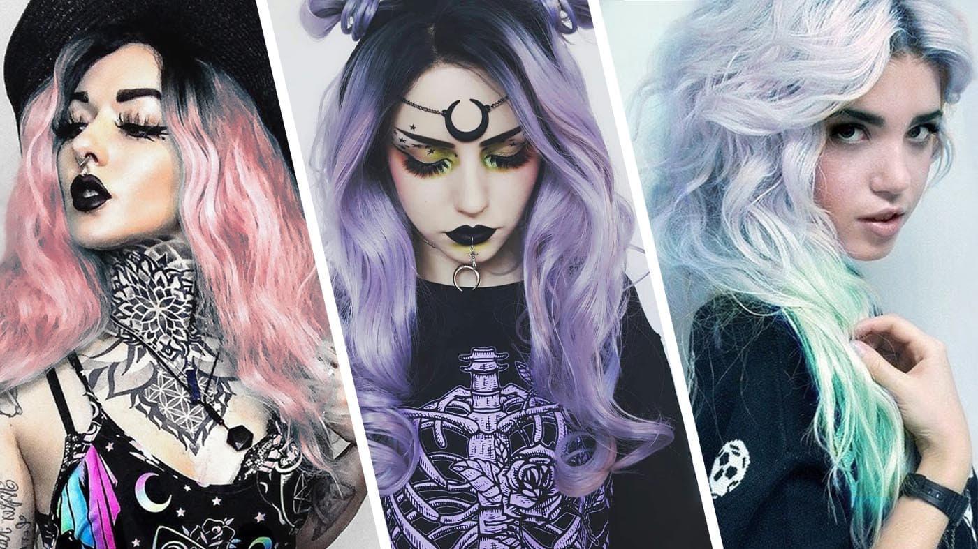 Pastel Goth Hairstyles
