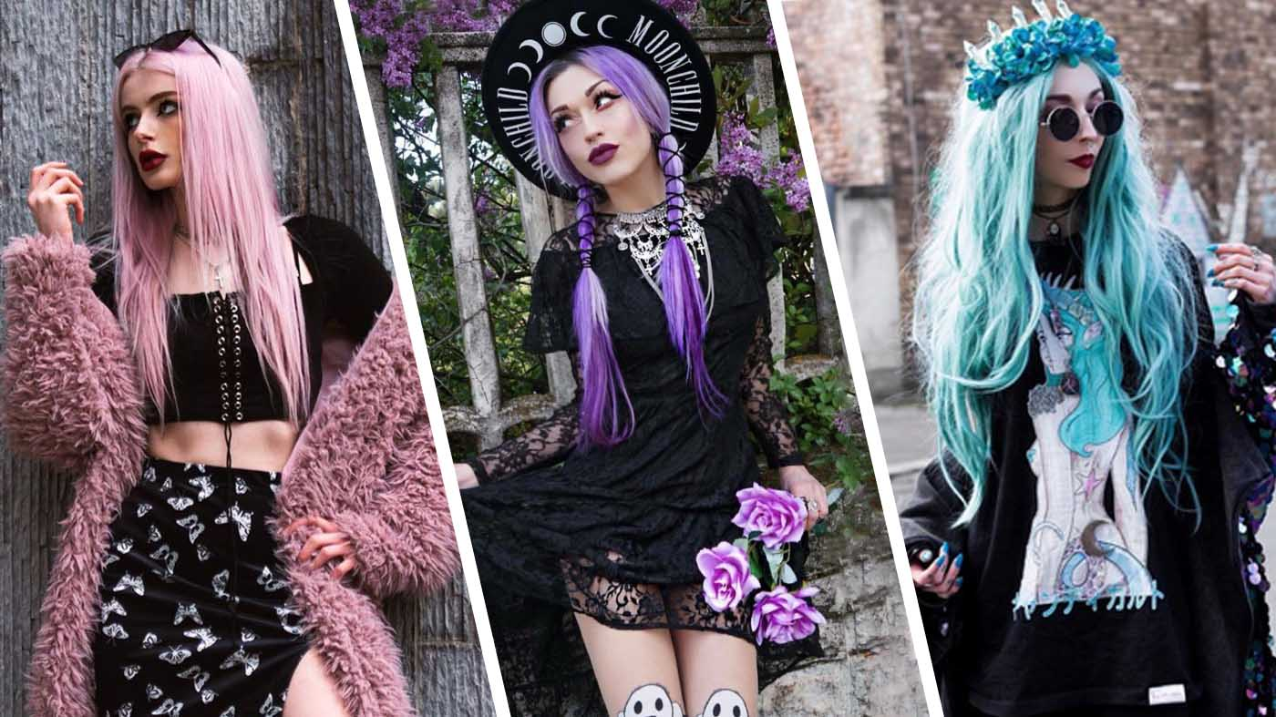 What is Pastel Goth