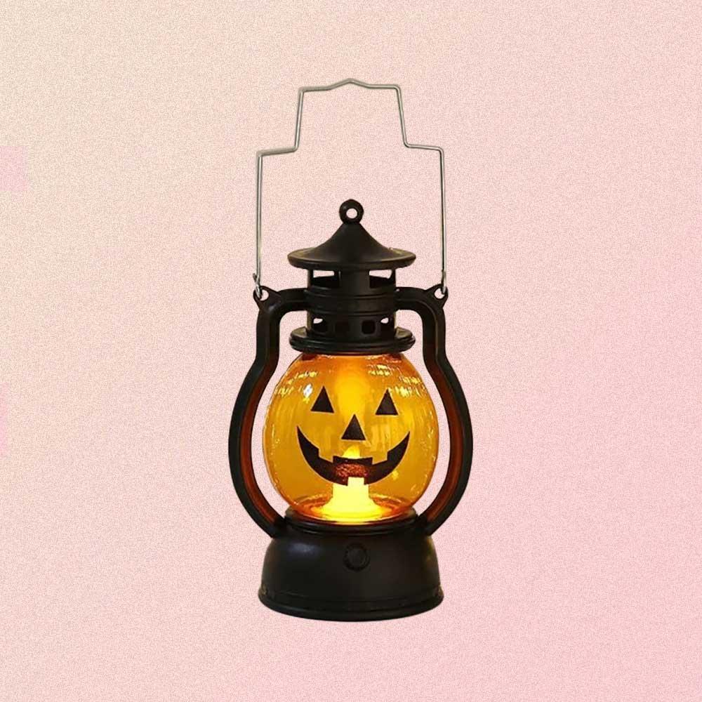 Halloween Pumpkin Candle Lantern